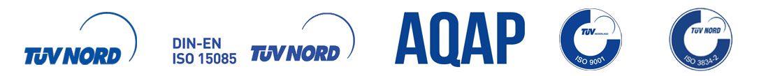logotypy i certyfikaty